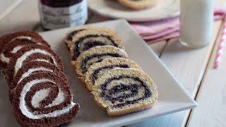 Recette du gâteau roulé / Swiss roll cake recipe / طريقة عمل سويسرول