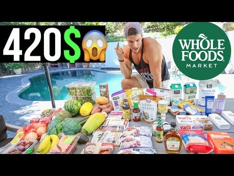 My Healthy Whole Foods Market Grocery Haul!
