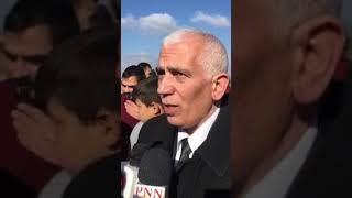 محافظ بيت لحم كامل حميد في لقاء حول اعتداءات الاحتلال على اراضي بلدة بتير