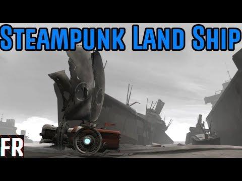 Far: Lone Sails - Steampunk Land Ship