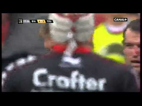 Biarritz vs Toulon Botha vs Ngwenya
