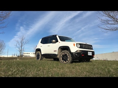 2017 Jeep Renegade Trailhawk - Review