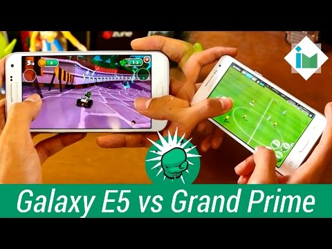 Samsung Galaxy E5 vs Galaxy Grand Prime