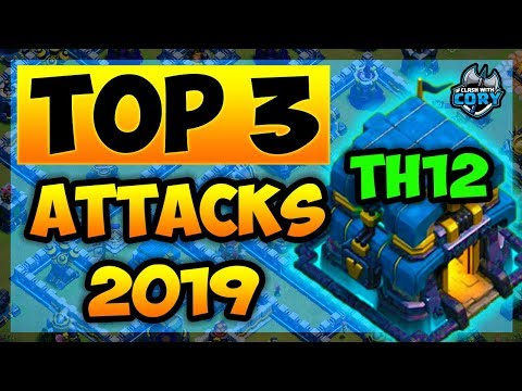 *STRONGEST* TH12 ATTACK STRATEGIES 2019 - TOWN HALL 12 - CLASH OF CLANS - COC - BEST