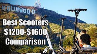 best scooter between 1200 1600 comparison zero 10x emove cruiser joyor y10 qiewa q1 hummer