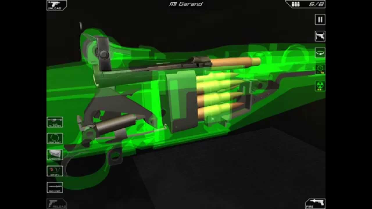 M1 Rifle Diagram 2005 Jeep Lj Wiring Inside The Garand Animation Youtube