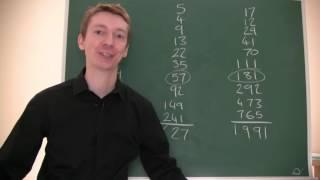 Sum of Fibonacci Numbers Trick
