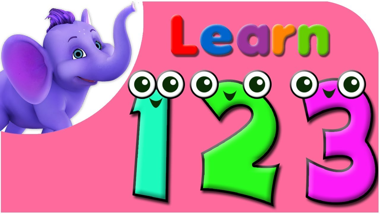 Lets Learn Numbers  Preschool Learning  Youtube