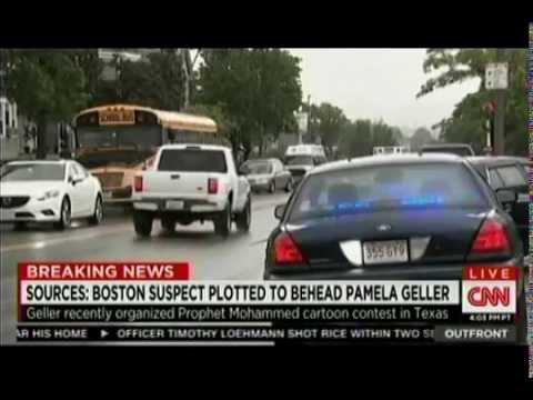 Erin Burnett Pamela Geller In Wake Of Beheading Plot Against Her