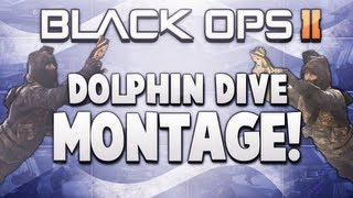 Black Ops 2: Dolphin Dive Montage! - Funny Killcams, Animation Glitch Kills! (Funtage, Trolling)