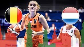 Belgium v Netherlands - FIBA U20 Women's European Championship 2018