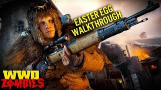 The Tortured Path Full Easter Egg Tutorial Walkthrough (Extremely Detailed) WWII Zombies