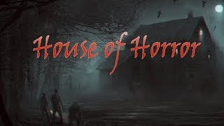 House of horror - Девушка первый раз играет в хоррор