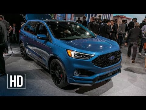 2019 Ford Edge ST First Look: First Performance SUV