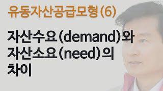 유동자산공급모형(6): 자산수요(demand)와 자산소…