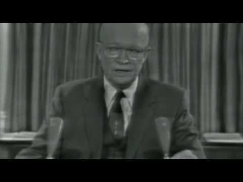 Eisenhower Farewell Address (Full) on YouTube