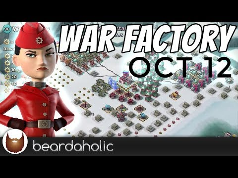 Boom Beach Gearheart War Factory Boosted Gameplay Smooka Walkthrough for Oct 12, 2017