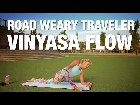 Road Weary Traveler Yoga - Post Road Trip Yoga - Five Parks Yoga