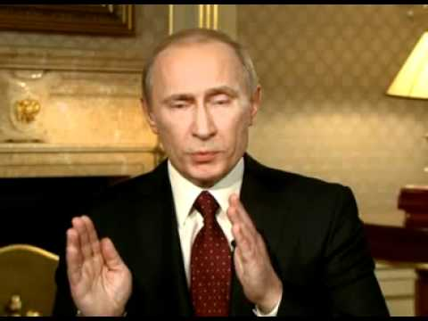 TV interview Prime Minister Vladimir Putin gave to CNN's Larry King (English Subtitles)