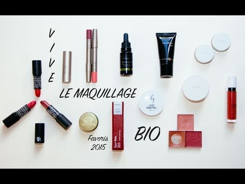 Favoris 2015 | Vive le maquillage bio !!!