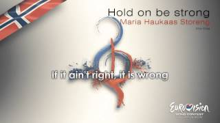 Watch Maria Haukaas Storeng Hold On Be Strong video