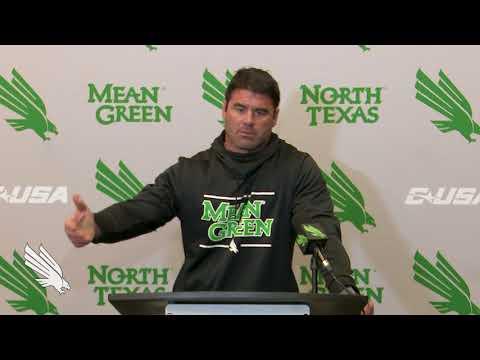 North Texas Football: Seth Littrell Press Conference Week 8 FAU 10/21/17