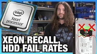HW News - Intel CPU Recall, 7nm GPU, AMD Ray Tracing Bench, & HDD Failure Stats