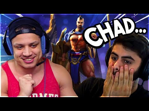 Yassuo & Tyler1 React to NEW Reworked Pantheon Gameplay Preview | Funny LoL Moments #284