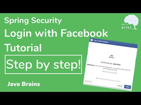 Implementing Login With Facebook And Github From Scratch - Java Brains