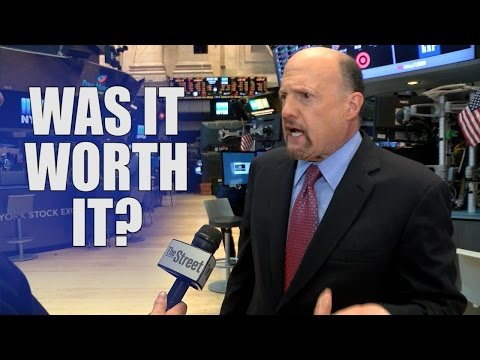 Jim Cramer Says in Some Ways He Regrets His Famous Rant on CNBC That Occurred Nine Years Ago Today