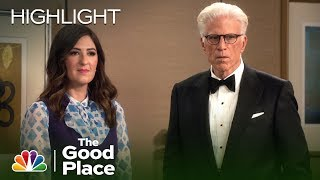Eleanor and Michael Have One Last Move - The Good Place