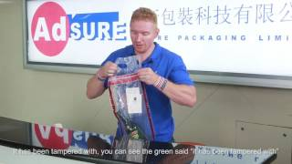STEBs , Security Tamper Evident Bags,Security Bag,ICAO duty free Bag