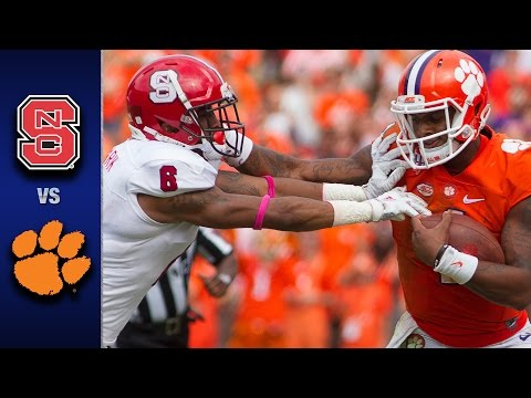 NC State vs. Clemson Football Highlights (2016)