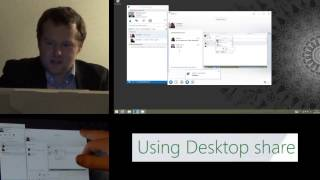 How to Share your Desktop in Lync