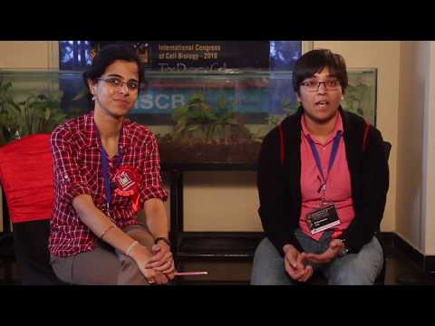 Listening to PhD students from CSIR-CCMB - TLOS, ICCB 2018