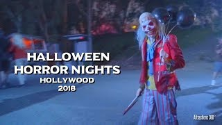 [4K] ALL Mazes at Halloween Horror Nights 2018 - Universal Studios Hollywood