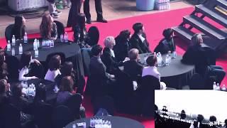 IZONE, STRAY KIDS, IDOLS REACTION TO BTS VCR AT GAON CHART MUSIC AWARD 2019