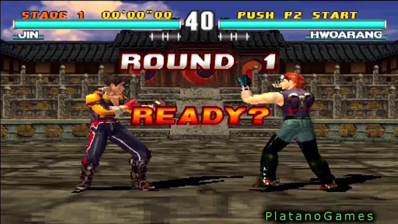 Classic Tekken 3 Arcade Edition Jin Kazama Arcade Hd Youtube