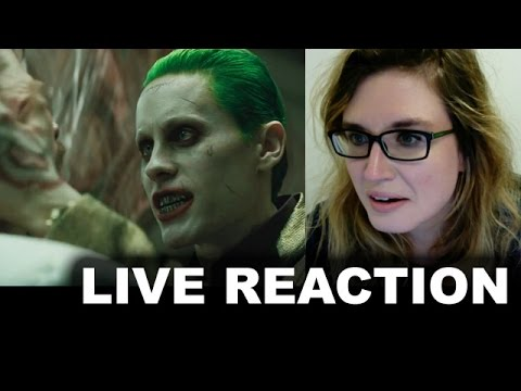 Suicide Squad Official Trailer REACTION & REVIEW