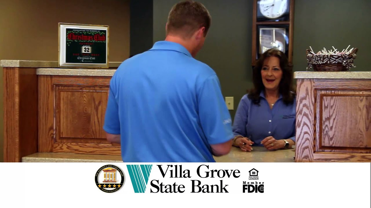 villa grove state bank our town villa grove 2015 - youtube