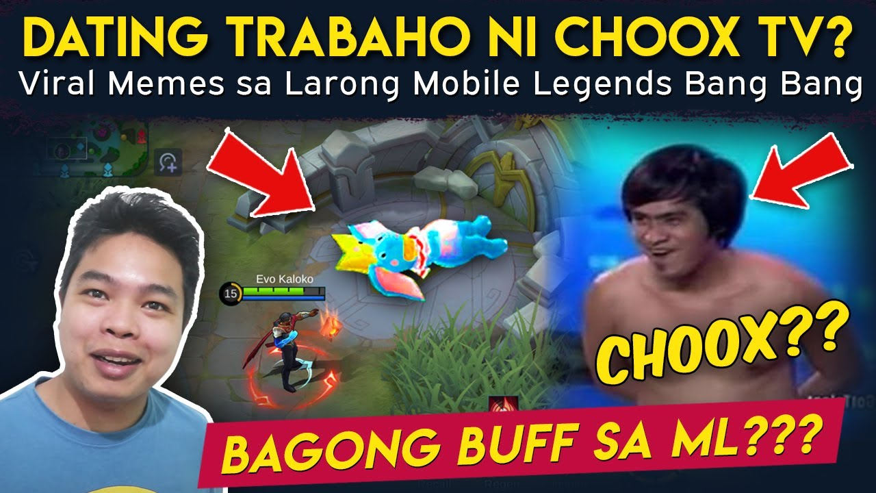 Dating Trabaho ni ChoOx TV? - Viral Memes sa Mobile Legends