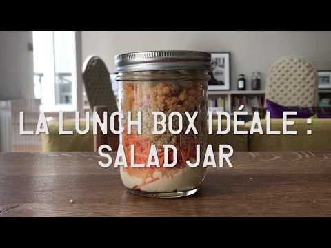 Idée repas à emporter : les salad jars !