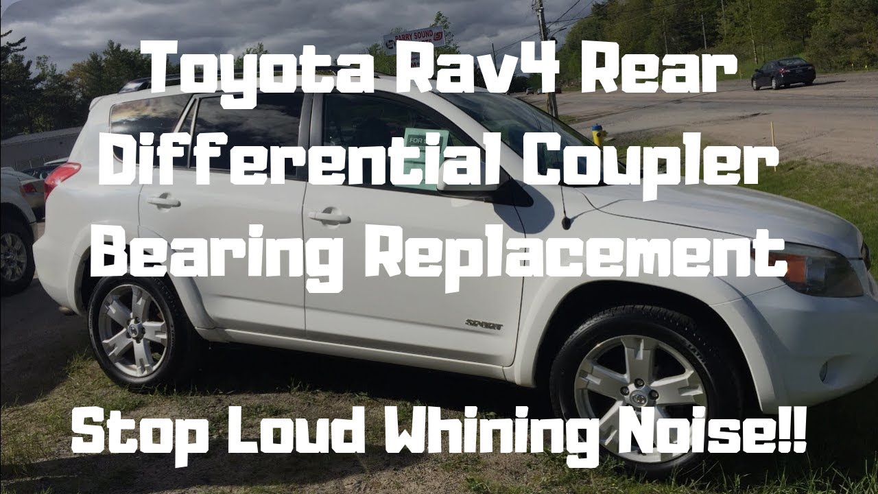 Rav 4 Loud Whining Noise From Rear Differential  (SOLVED) Viscous Coupler  Bearing Replacement