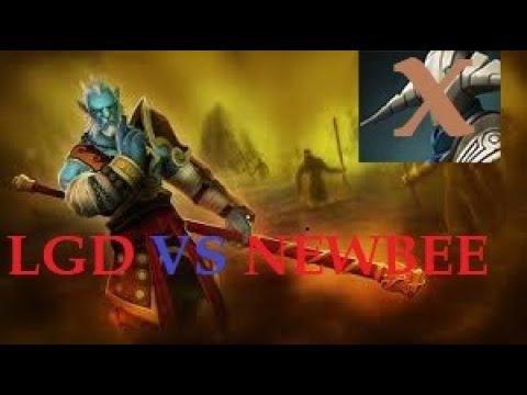 NEWBEE vs LGD - Amazing Semi-Fina Counter By Sven Dota2