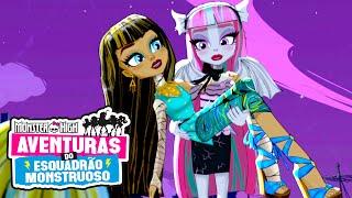 Gárgulas e Goteiras | Aventuras do Esquadrão Monstro | Monster High