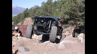 Carnage Canyon Trail Run With Toyota Pickups, 4Runners, Buggies and a Jeep
