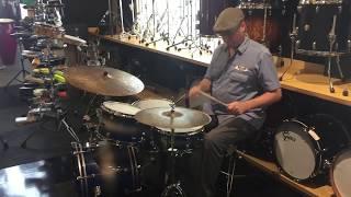 "Meinl R&D Byzance 18"" Hi Hat Cymbals"