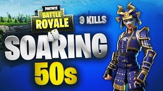 Soaring 50s Win | Fortnite | No Commentary