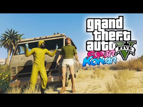 GTA 5 online - Best of funny moments #33 (Breaking Bad)