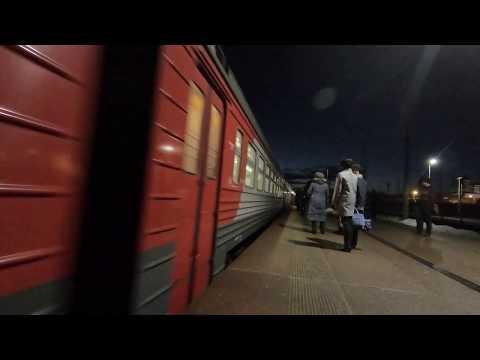 ЭТ2М-092, маршрут: Тверь - Москва / Train ET2M-092, Route: Tver - Moscow